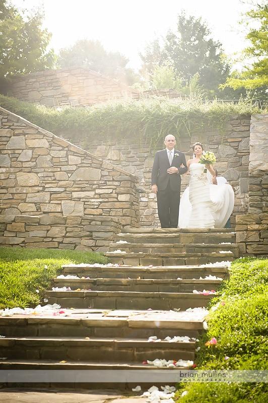 wedding at the NC Arboretum