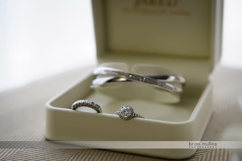 silver wedding jewelry