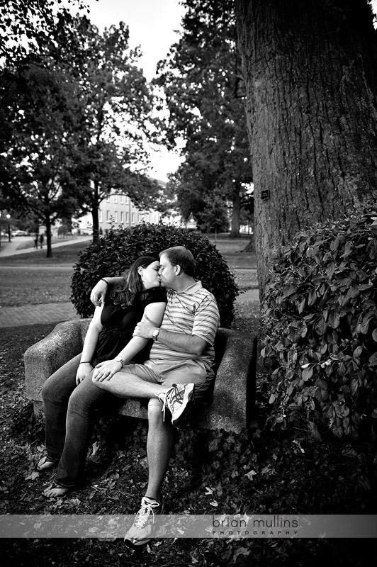 UNC campus engagement photo