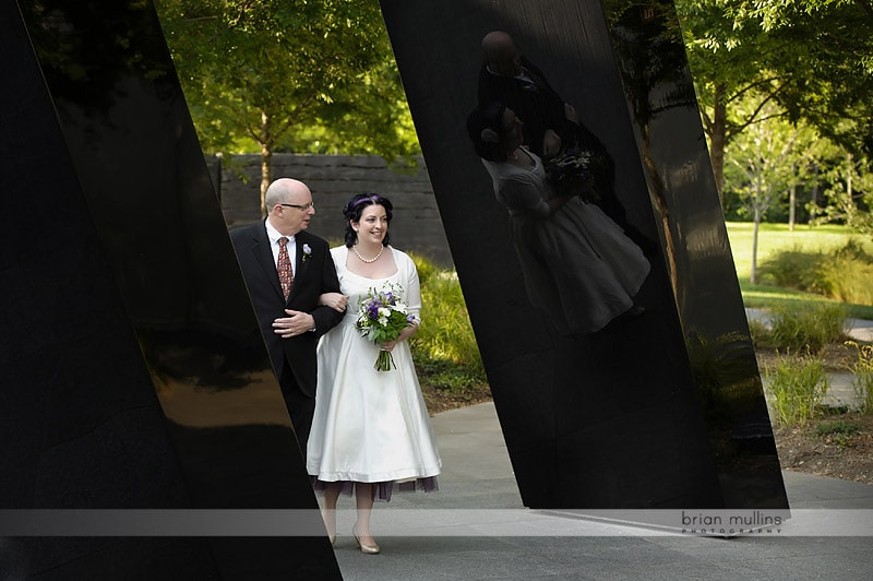 nc art museum wedding processional