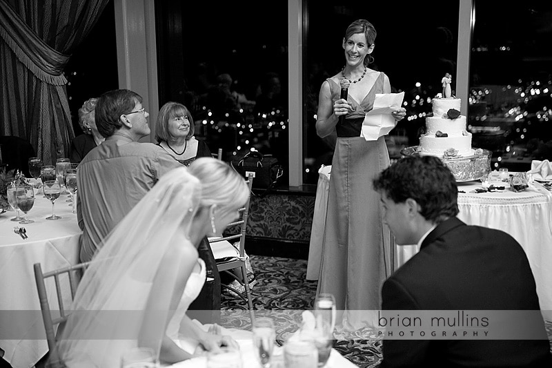 wedding reception toasts in Raleigh