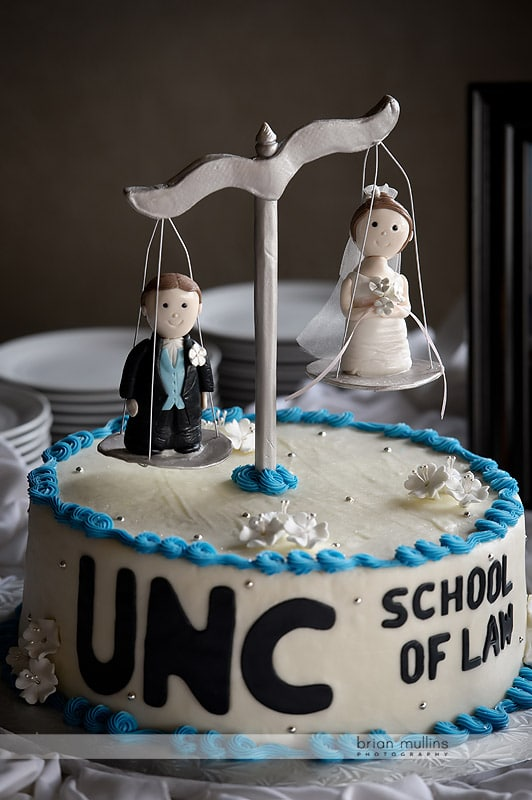UNC Law cake