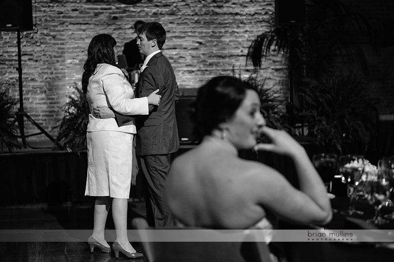 bay 7 wedding reception parent dances