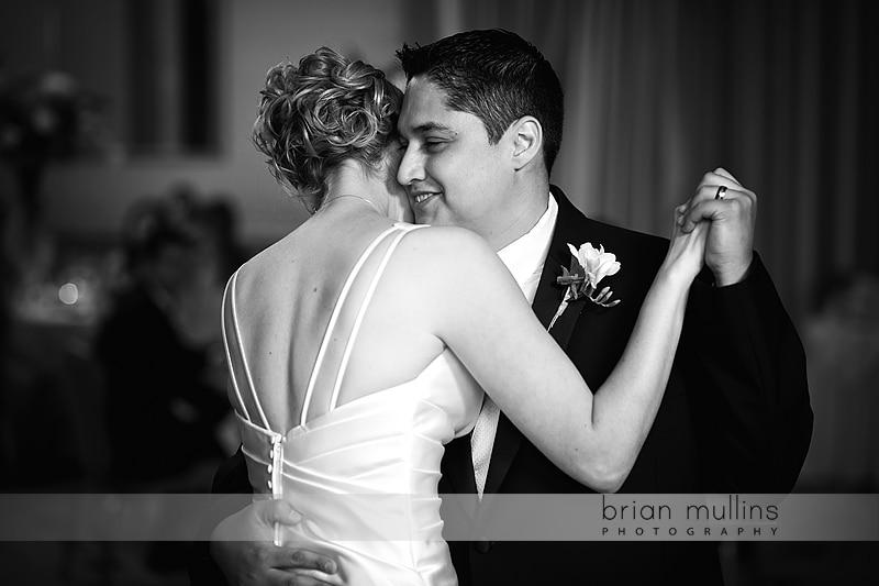 Umstead Hotel Wedding first dance