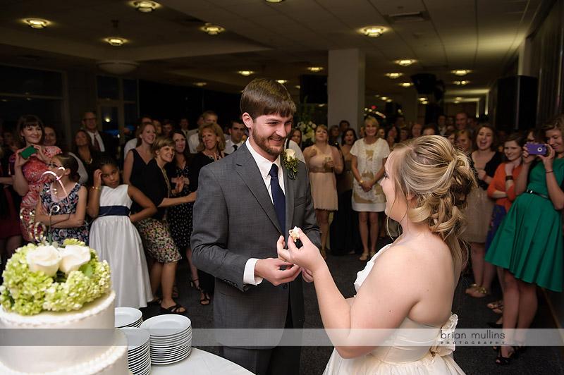 before the wedding cake smash
