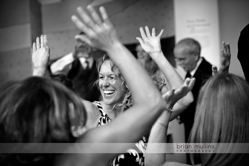 dancing at museum of natural sciences wedding