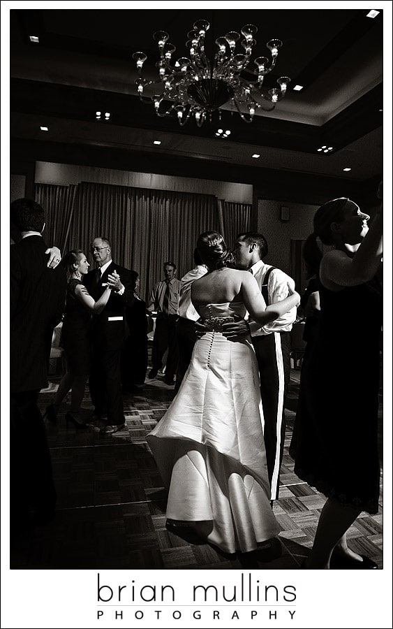 wedding reception dancing - Umstead Hotel in Cary, NC