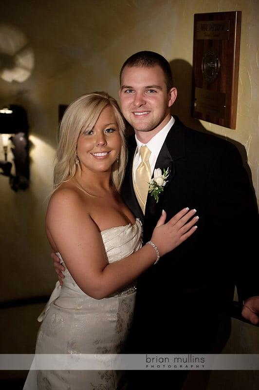 angus barn wedding photo