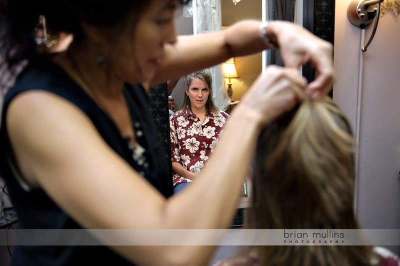 raleigh wedding hair