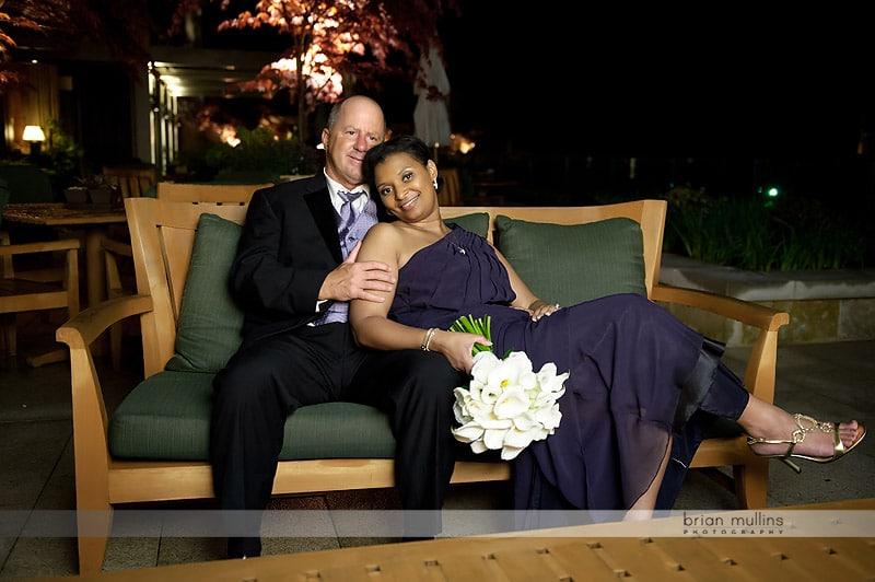 fireplace wedding photos