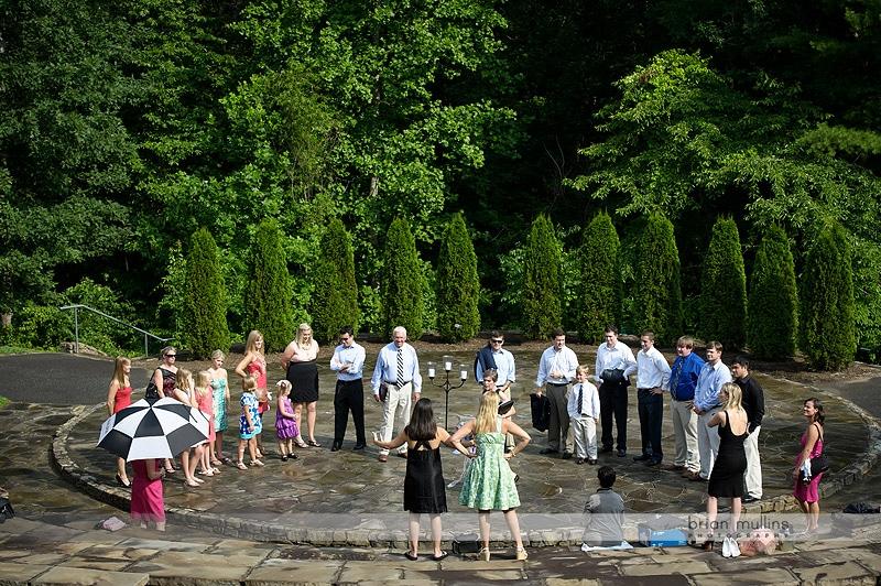 NC Arboretum Wedding Rehearsal