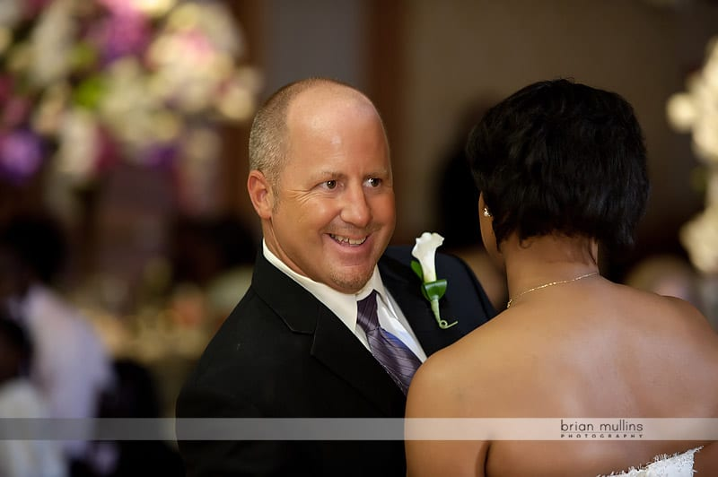 wedding reception at the umstead hotel