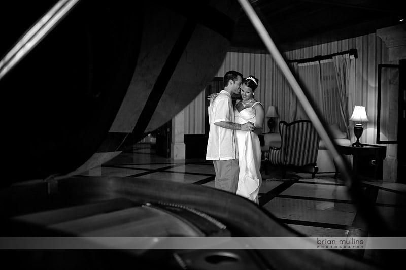 unique wedding day portraits