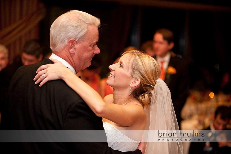 Raleigh Wedding Photographer - bride dances with dad