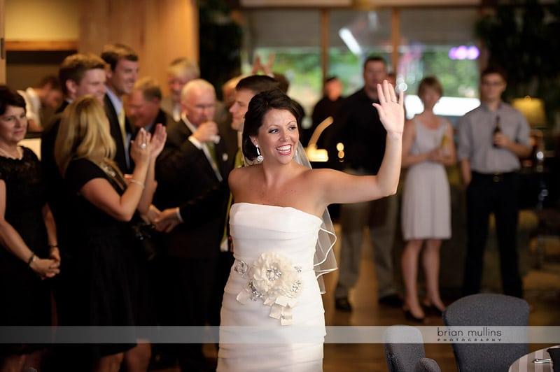 Crest Mountain wedding reception