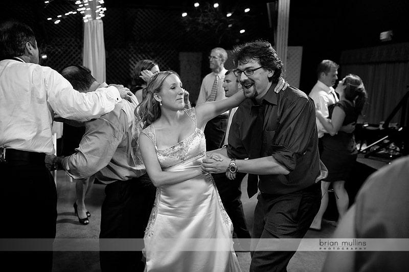 wild wedding reception