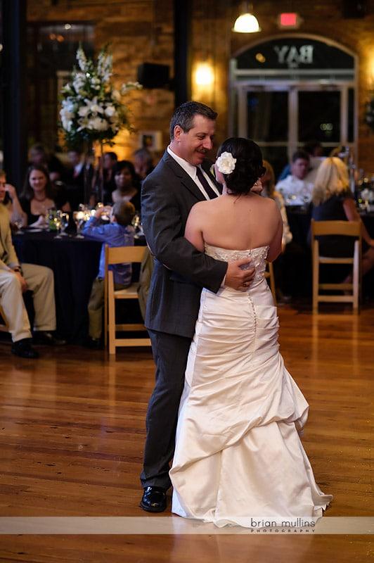 bay 7 wedding reception parent dance