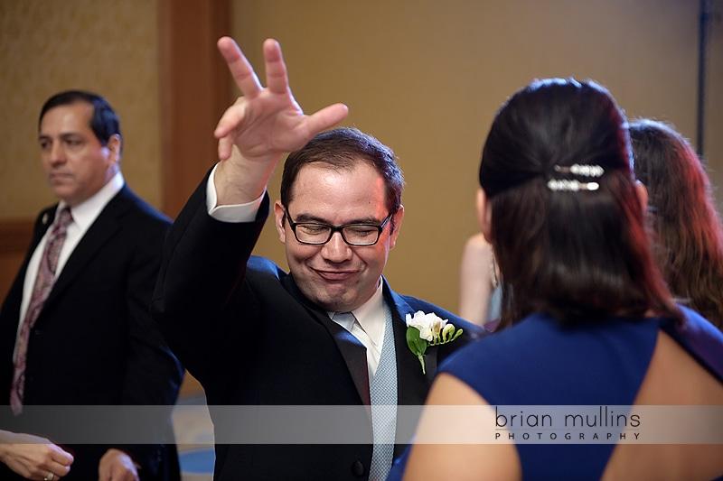 Dancing at umstead wedding reception