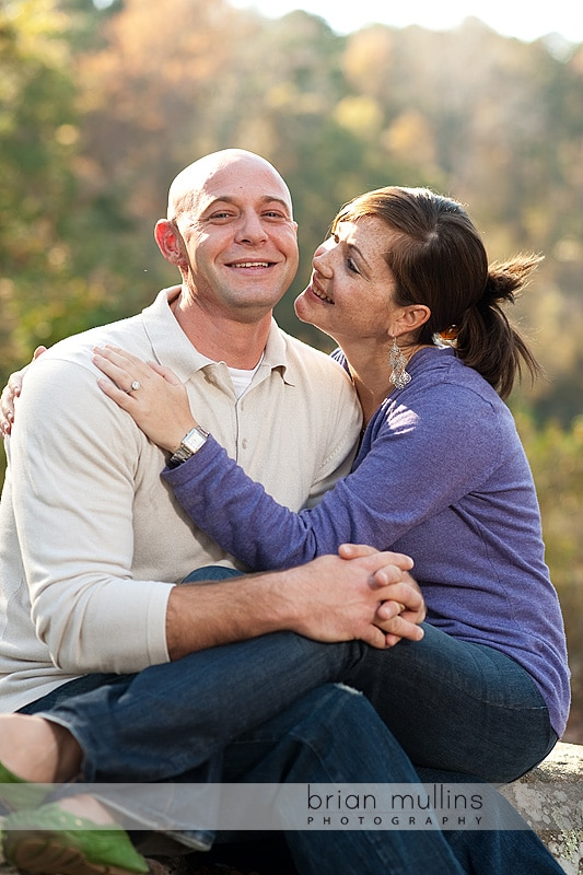Yates Mill Pond engagement photography