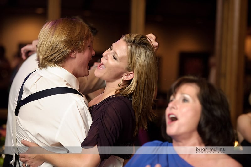 crest center wedding reception