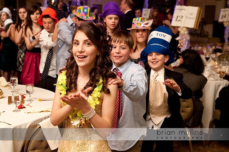 dancing at a bat mitzvah