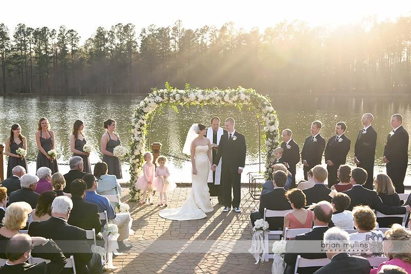 wedding at angus barn pavilion