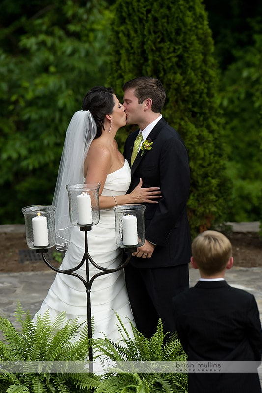 wedding at the NC Arboretum in Asheville