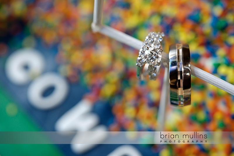 unique wedding ring photograph