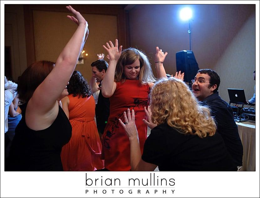 wedding reception dancing - Cary, NC