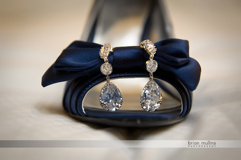 wedding diamond earrings