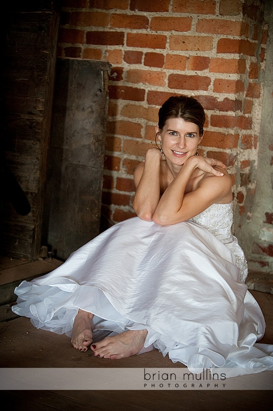Raleigh bridal portrait