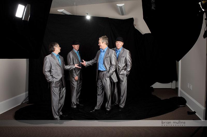 behind the scenes - photography studio