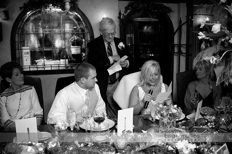 angus barn wedding toast
