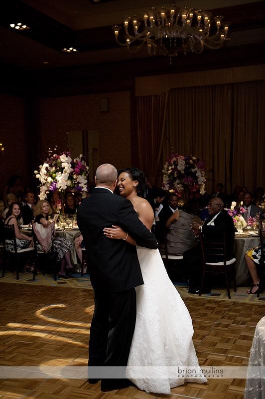 bride and groom wedding dance