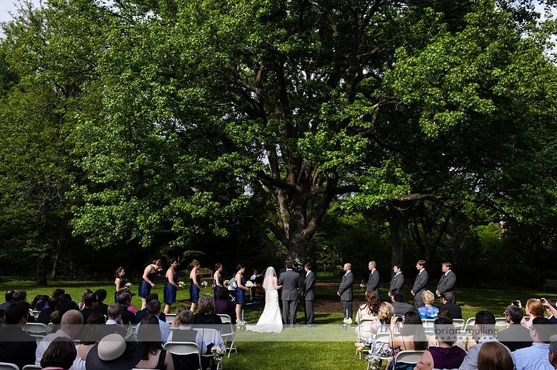 coker arboretum wedding