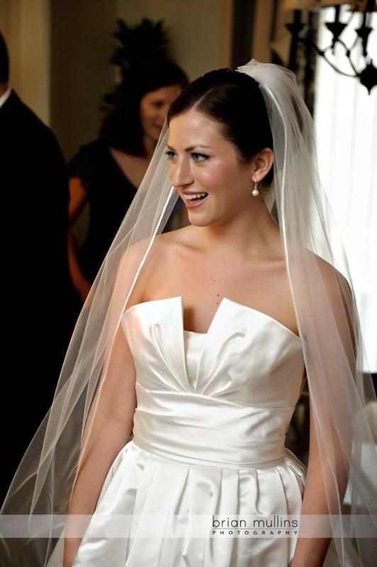 bride at washington duke inn