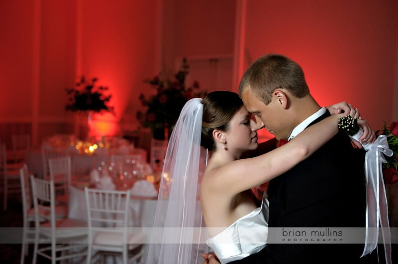 washiongton duke inn wedding portrait