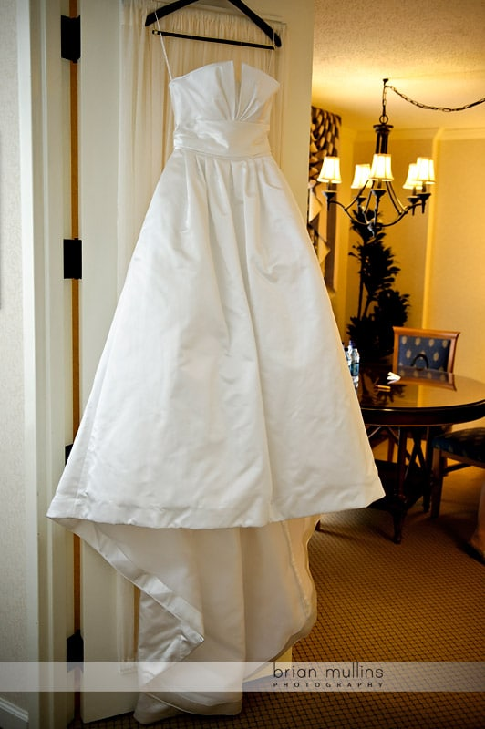 photo of bridal gown