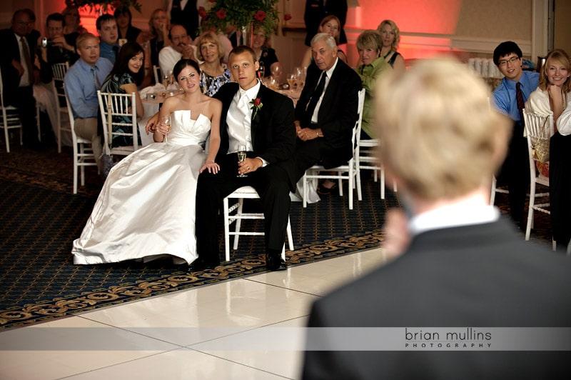 best man toast at washington duke inn wedding