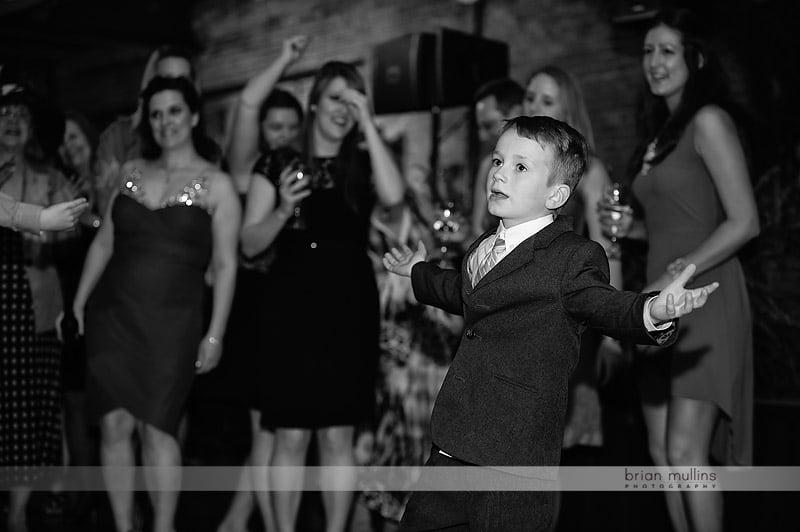 bay 7 wedding reception dancing