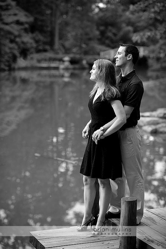 engagement photography at duke gardens