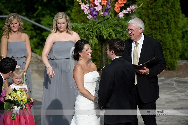 NC Arboretum wedding