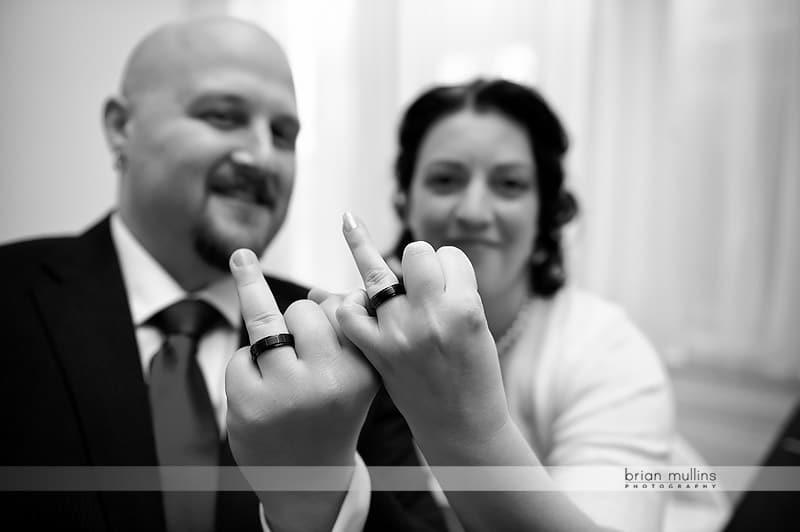 funny wedding ring photo