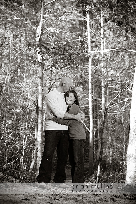 engagement session in Yates Mill Pond Park