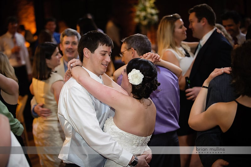 wedding reception at bay 7