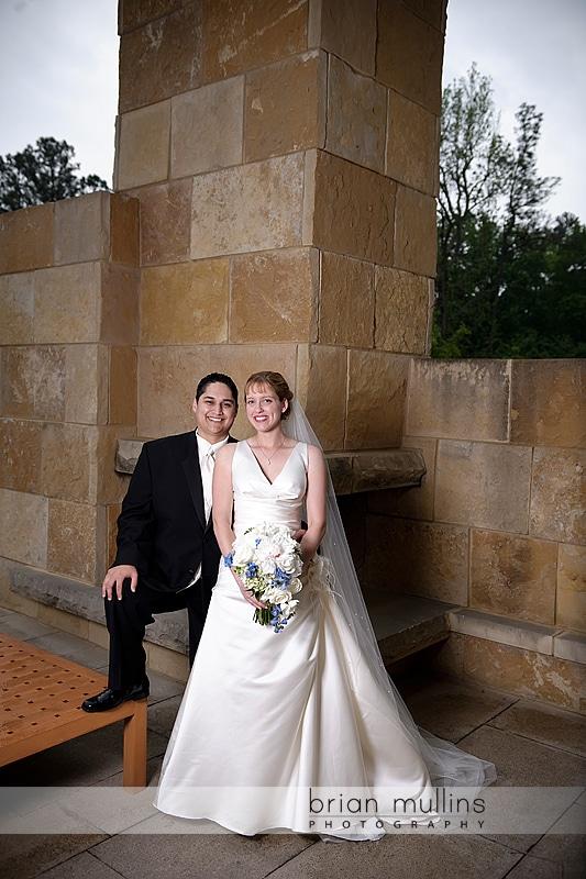 Umstead wedding portrait