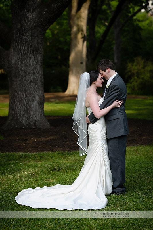 coker arboretum wedding photos