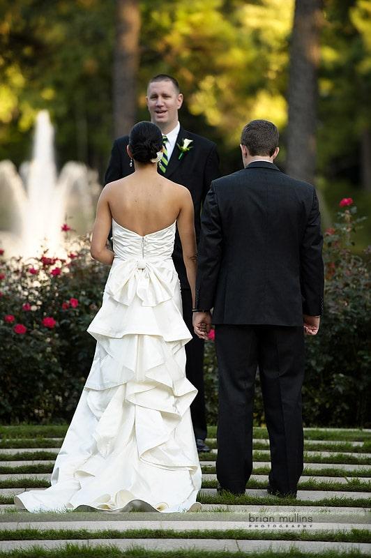 umstead hotel outdoor wedding ceremony
