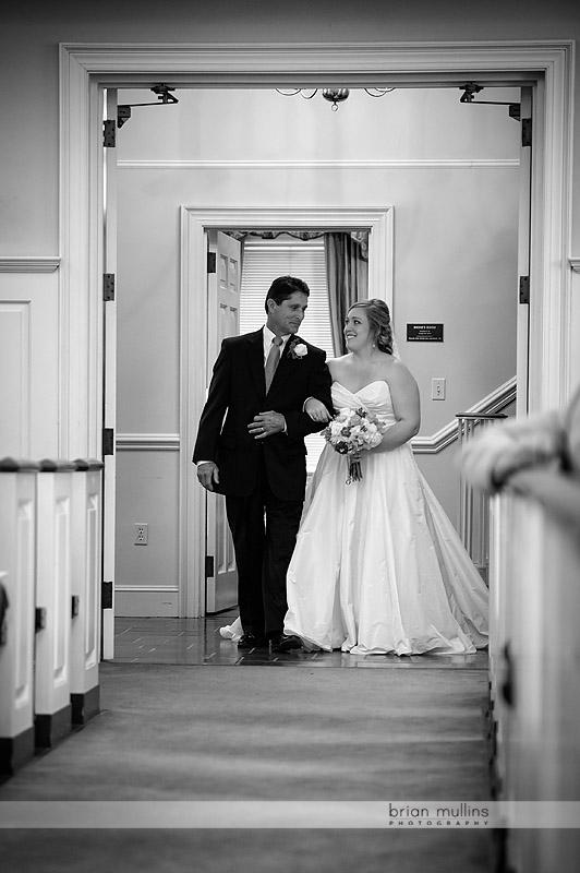 here comes the bride at jones chapel