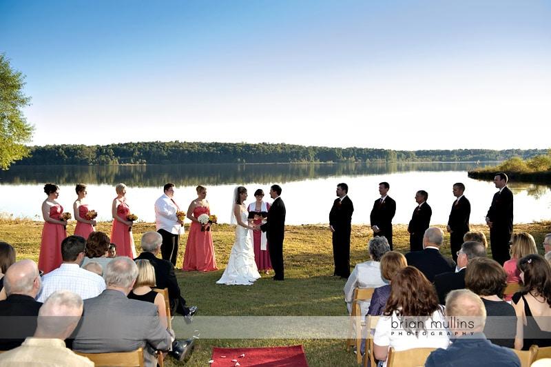 lake crabtree wedding